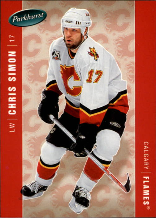 2005-06 Parkhurst #78 Chris Simon