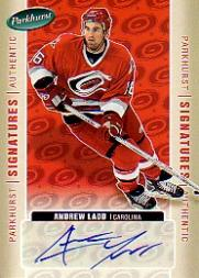 2005-06 Parkhurst Signatures #AL Andrew Ladd