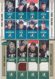 2005-06 Parkhurst True Colors #TCANA Anaheim Ducks