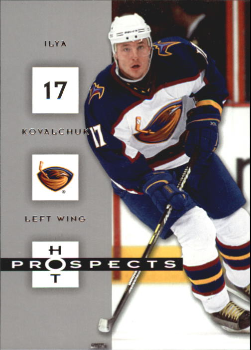 2005-06 Hot Prospects #5 Ilya Kovalchuk