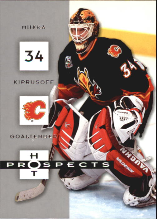 2005-06 Hot Prospects #15 Miikka Kiprusoff