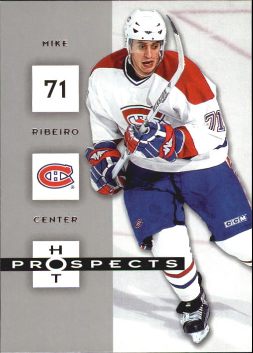 2005-06 Hot Prospects #54 Mike Ribeiro