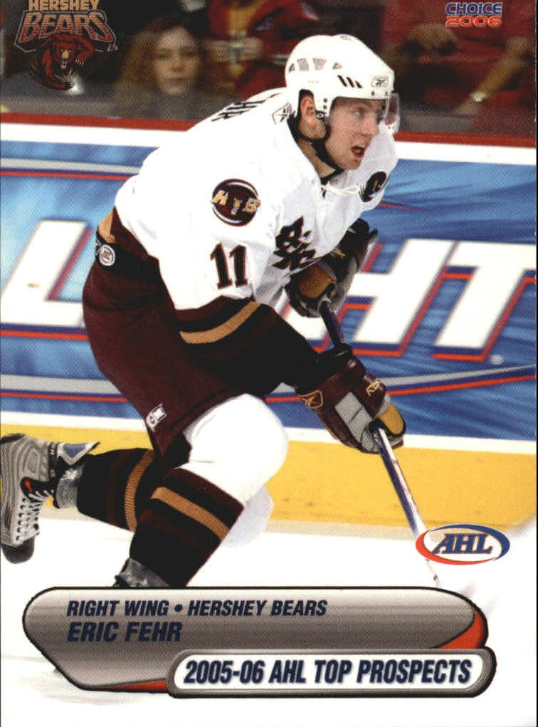 2005-06 AHL Top Prospects #13 Eric Fehr