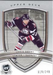 2005-06 The Cup #15 Chris Drury