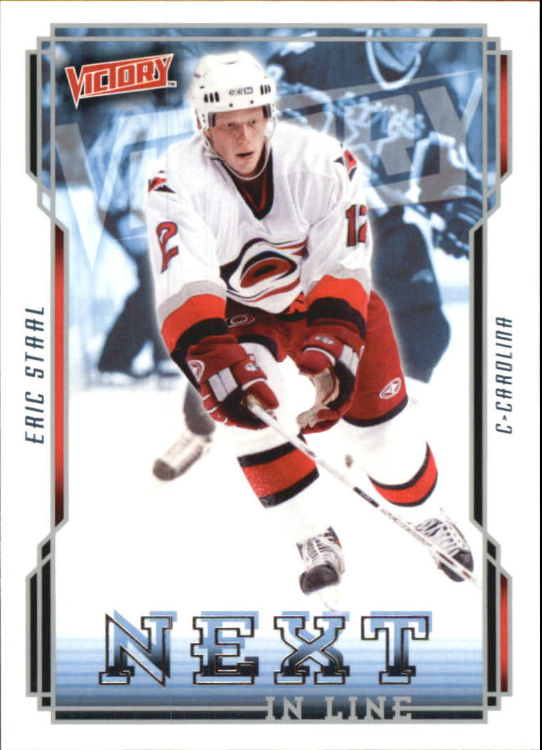 2006-07 Upper Deck Victory Next In Line #NL12 Eric Staal