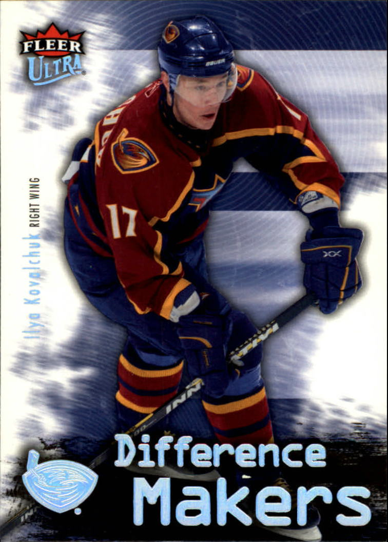2006-07 Ultra Difference Makers #DM2 Ilya Kovalchuk