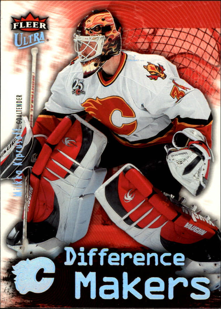 2006-07 Ultra Difference Makers #DM6 Miikka Kiprusoff