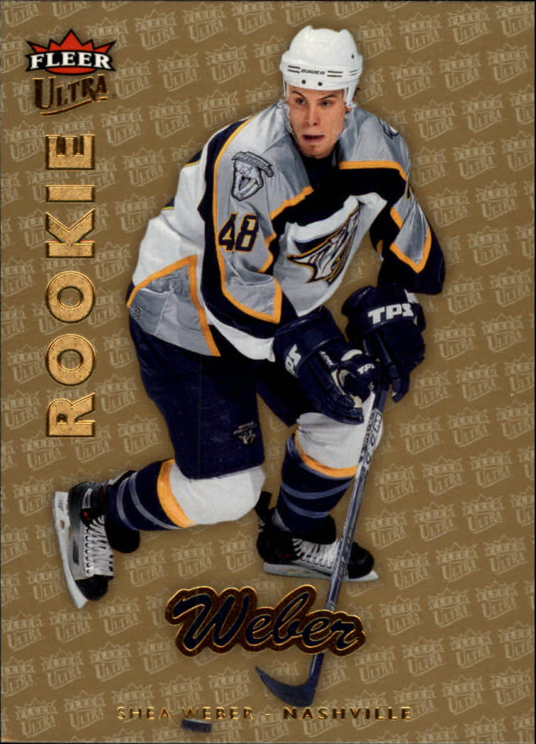 2006-07 Ultra Gold Medallion #211 Shea Weber