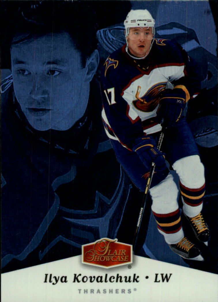 2006-07 Flair Showcase #6 Ilya Kovalchuk