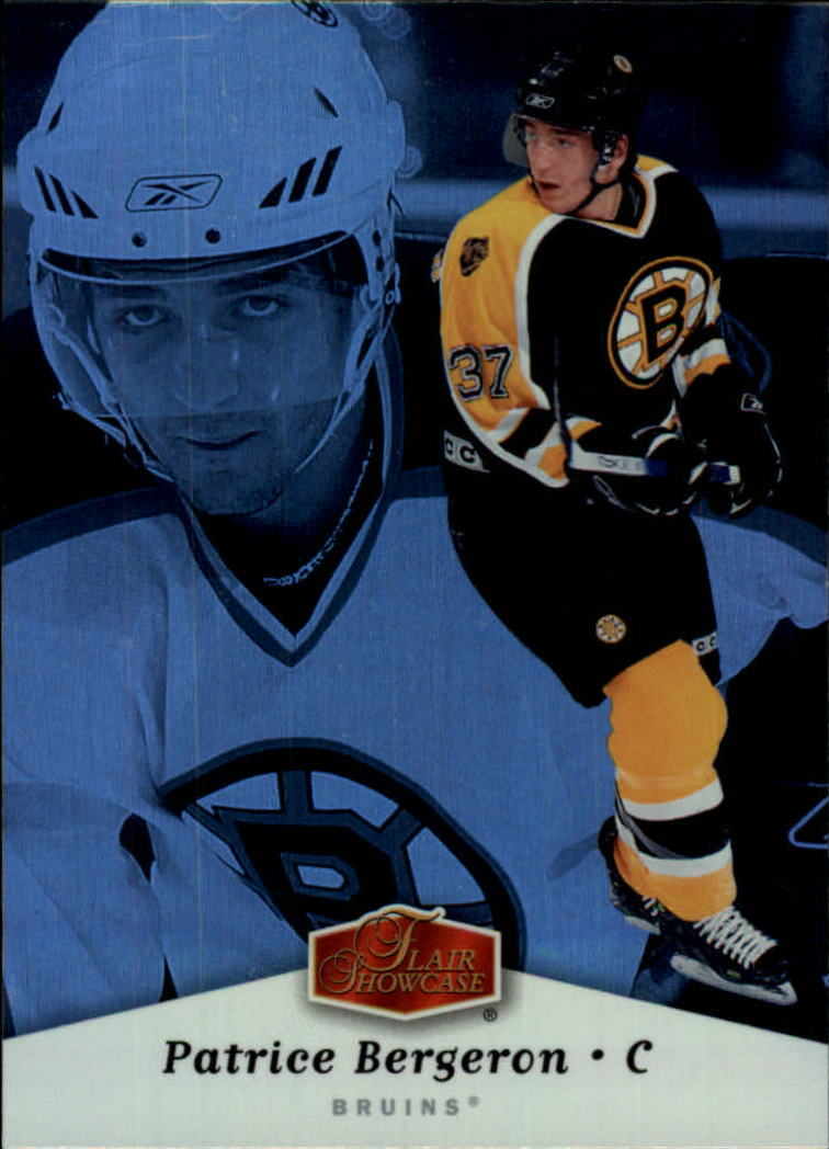 2006-07 Flair Showcase #9 Patrice Bergeron