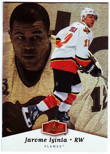 2006-07 Flair Showcase #16 Jarome Iginla