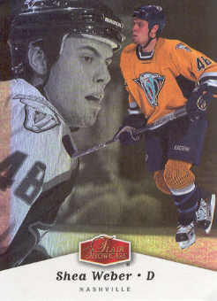 2006-07 Flair Showcase #59 Shea Weber RC