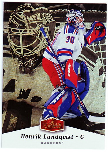 2006-07 Flair Showcase #65 Henrik Lundqvist