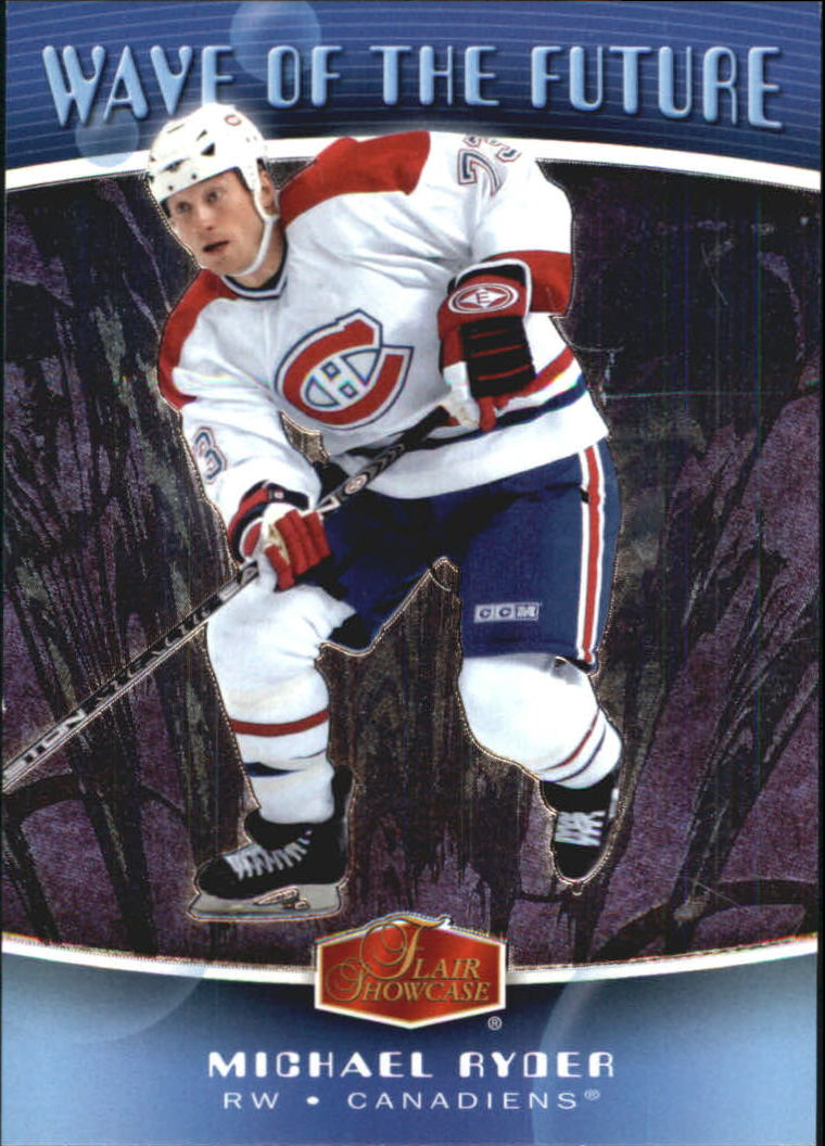 2006-07 Flair Showcase Wave of the Future #WF23 Michael Ryder