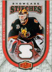 2006-07 Flair Showcase Stitches #SSMK Miikka Kiprusoff