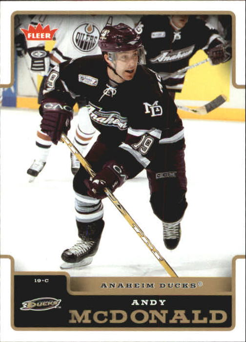 2006-07 Fleer #2 Andy McDonald