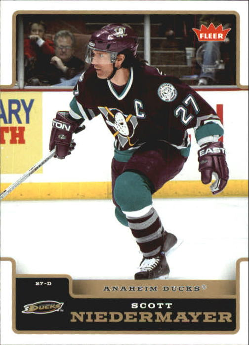 2006-07 Fleer #4 Scott Niedermayer