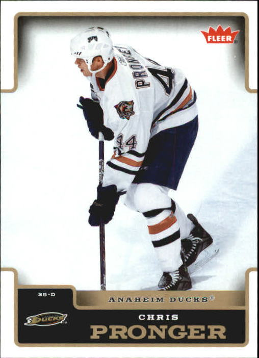 2006-07 Fleer #5 Chris Pronger