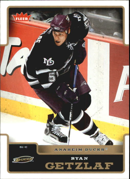 2006-07 Fleer #7 Ryan Getzlaf