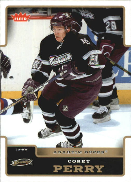 2006-07 Fleer #8 Corey Perry