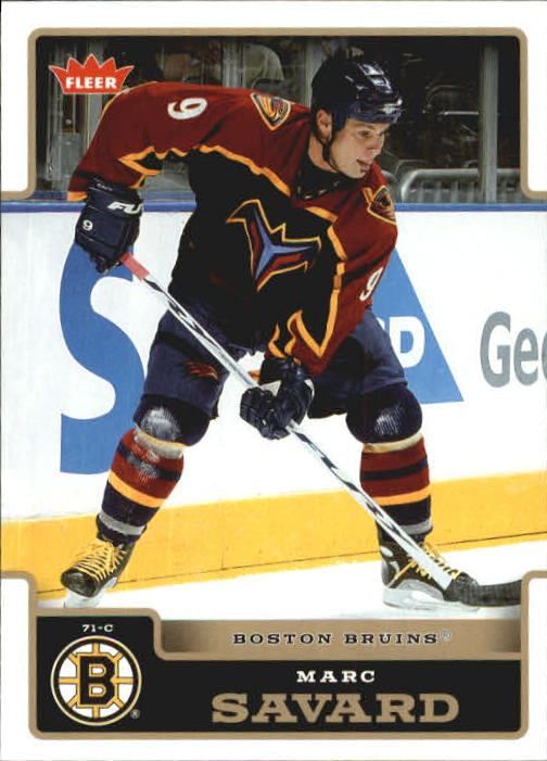 2006-07 Fleer #21 Marc Savard