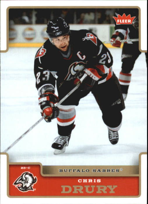 2006-07 Fleer #23 Chris Drury