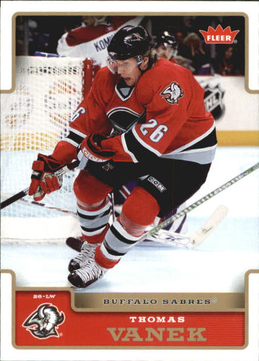 2006-07 Fleer #26 Thomas Vanek