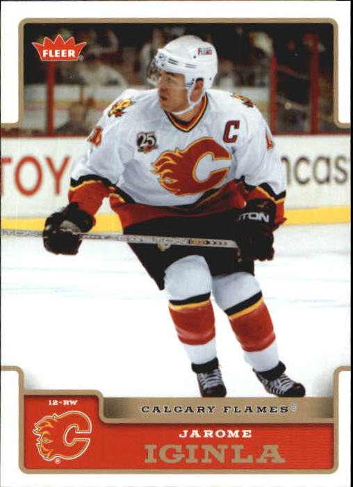 2006-07 Fleer #29 Jarome Iginla
