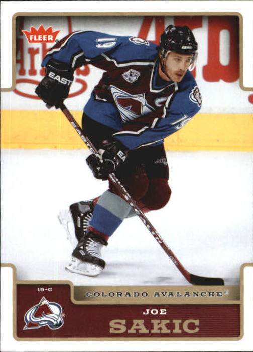 2006-07 Fleer #49 Joe Sakic