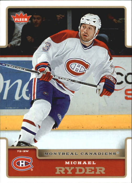 2006-07 Fleer #105 Michael Ryder