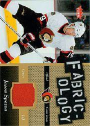 2006-07 Fleer Fabricology #FJS Jason Spezza