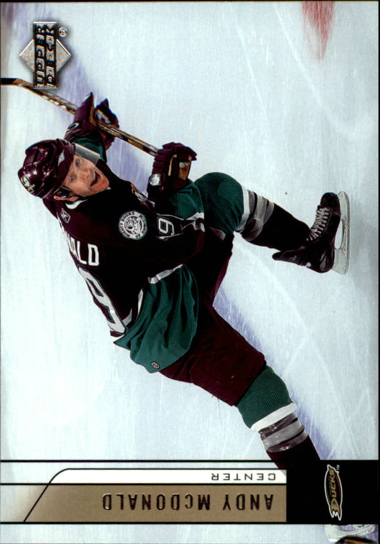 2006-07 Upper Deck #4 Andy McDonald