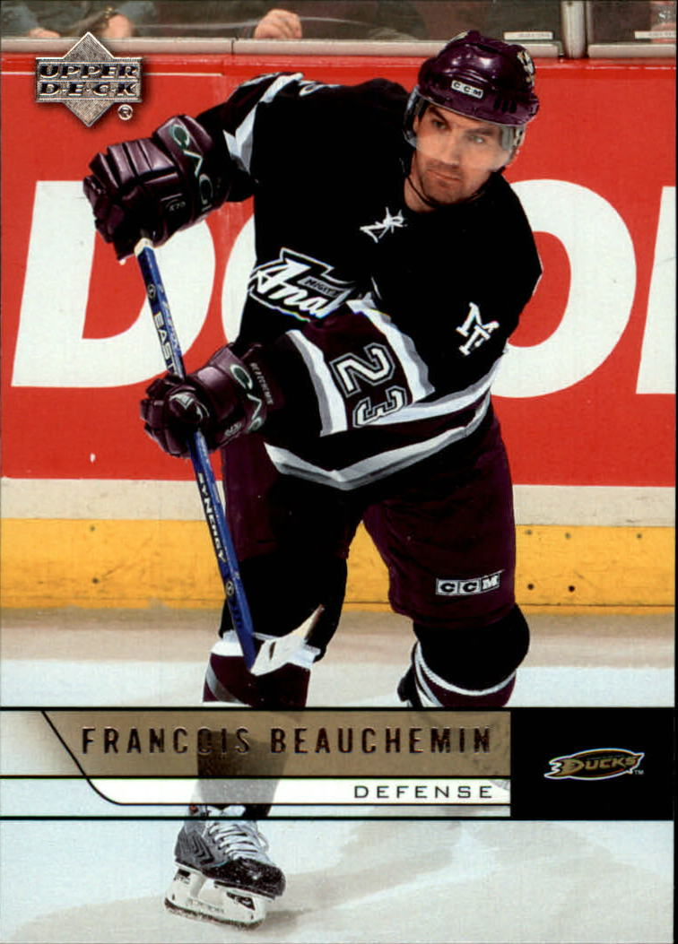 2006-07 Upper Deck #6 Francois Beauchemin