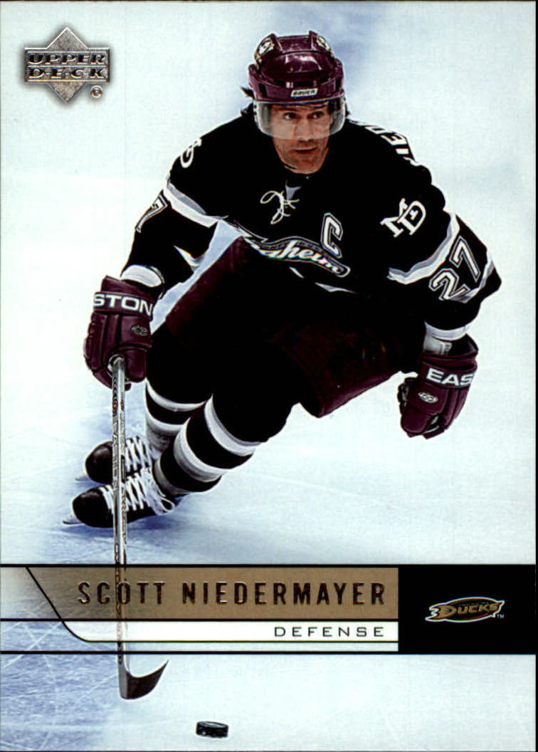 2006-07 Upper Deck #7 Scott Niedermayer