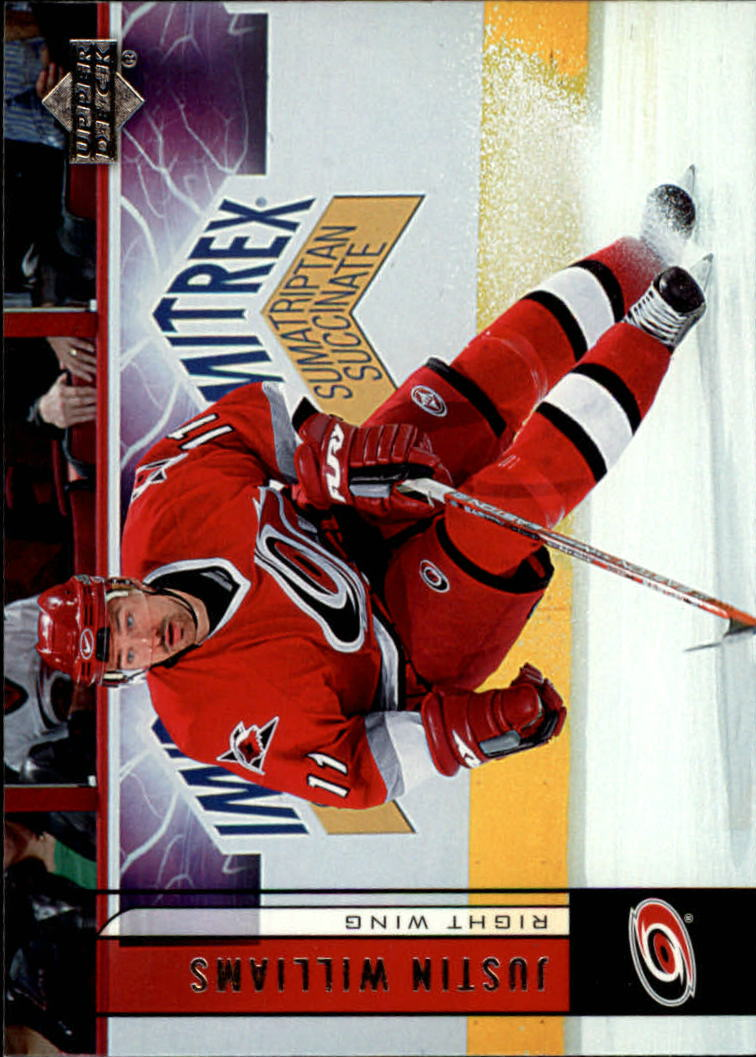 2006-07 Upper Deck #37 Justin Williams