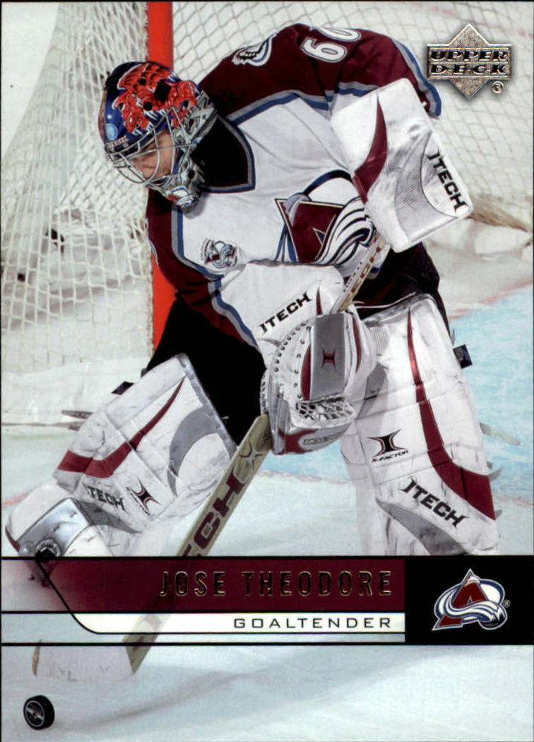 2006-07 Upper Deck #48 Jose Theodore