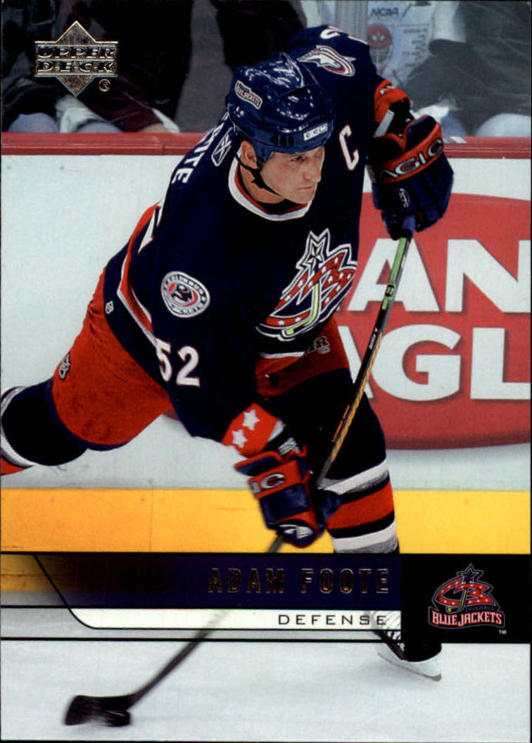 2006-07 Upper Deck #57 Adam Foote