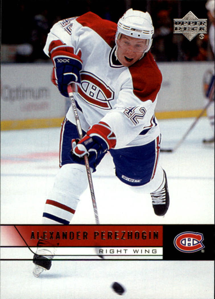 2006-07 Upper Deck #105 Alexander Perezhogin