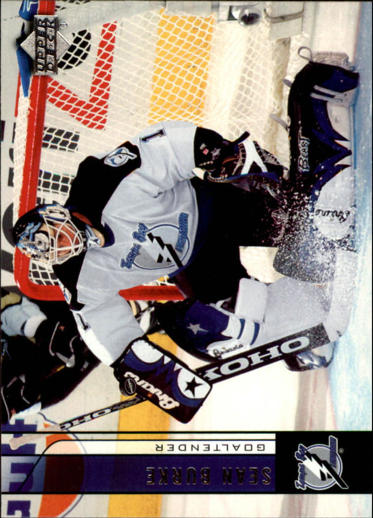 2006-07 Upper Deck #180 Sean Burke
