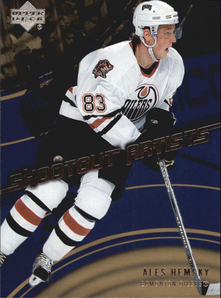 2006-07 Upper Deck Shootout Artists #SA6 Ales Hemsky