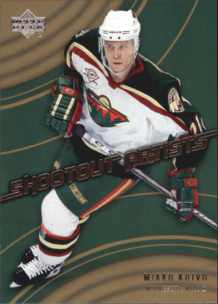 2006-07 Upper Deck Shootout Artists #SA7 Mikko Koivu