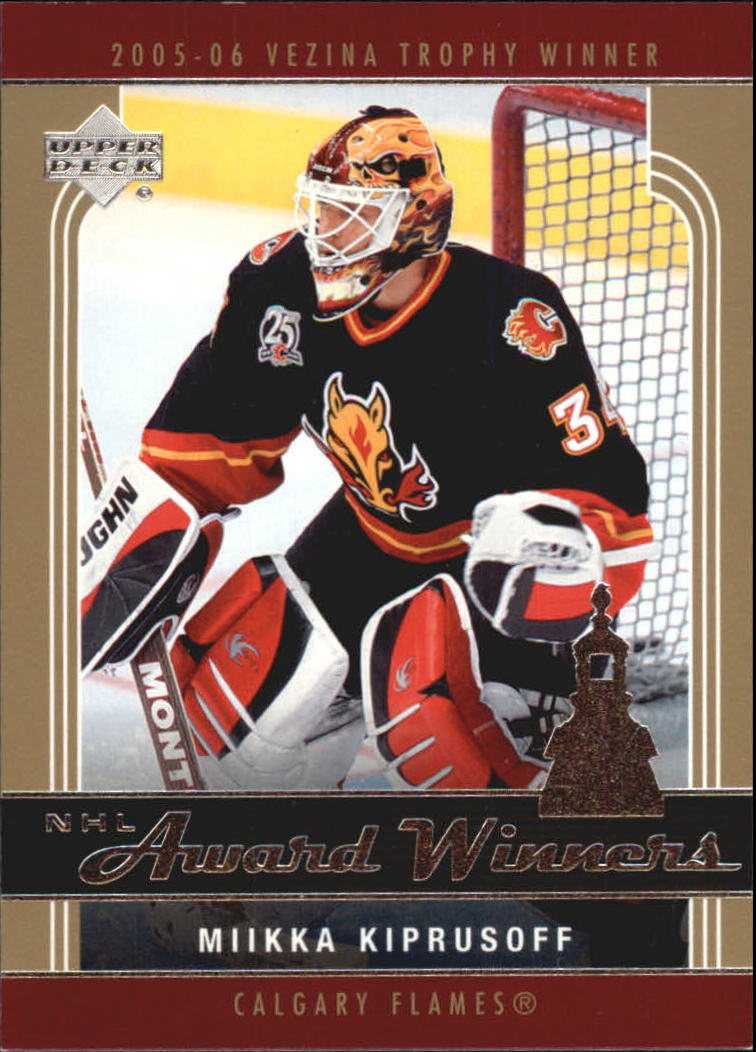 2006-07 Upper Deck Award Winners #AW2 Miikka Kiprusoff