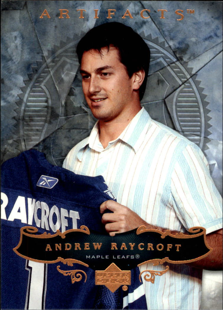 2006-07 Artifacts #9 Andrew Raycroft