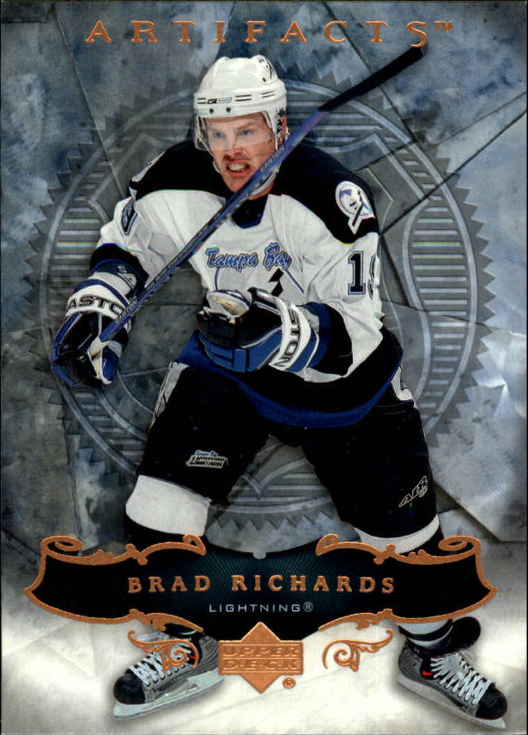 2006-07 Artifacts #11 Brad Richards