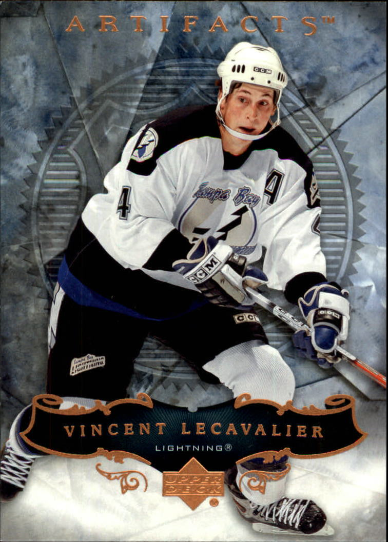 2006-07 Artifacts #12 Vincent Lecavalier