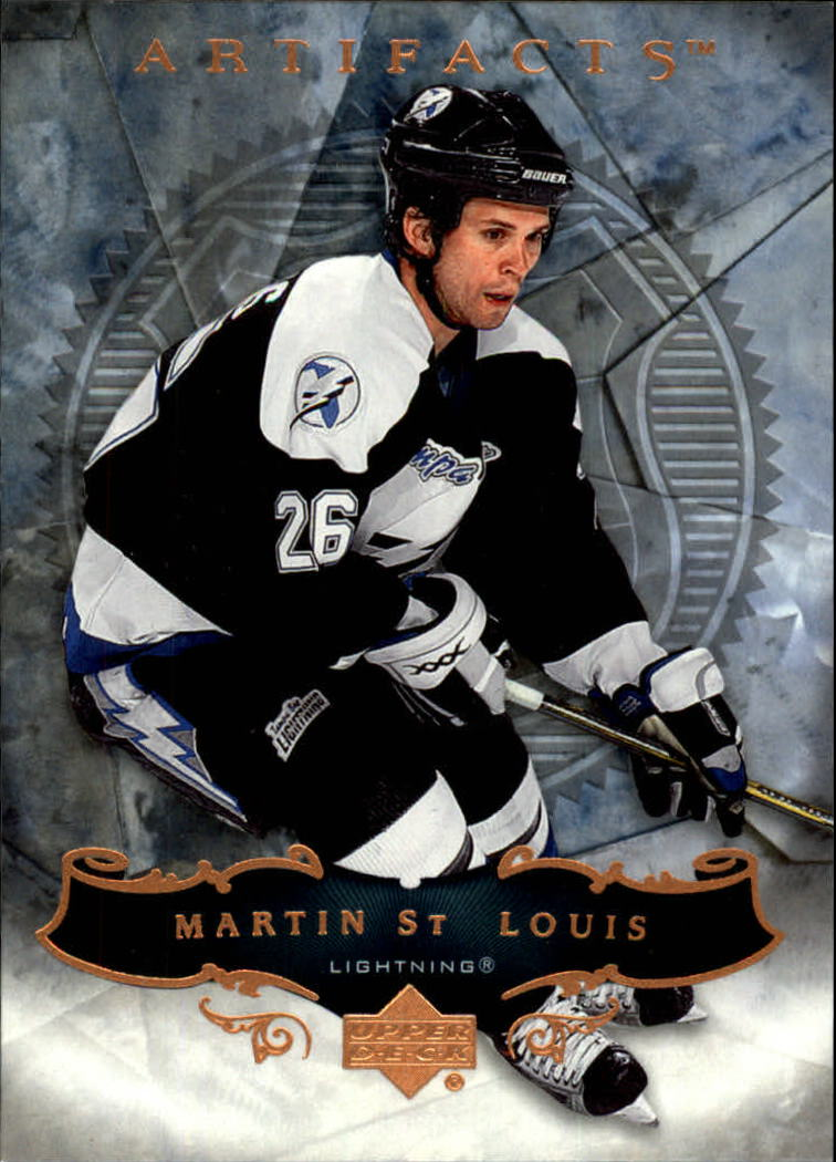 2006-07 Artifacts #13 Martin St. Louis