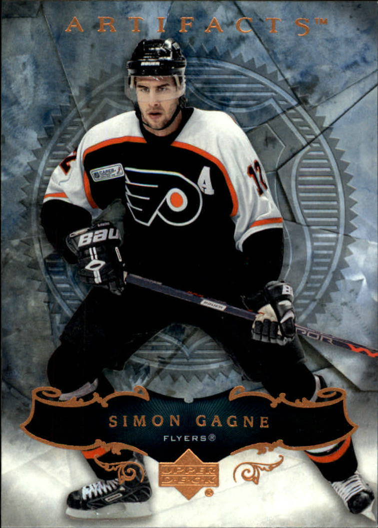 2006-07 Artifacts #29 Simon Gagne