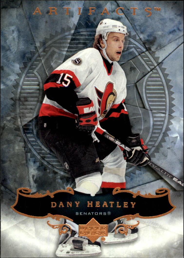 2006-07 Artifacts #32 Dany Heatley