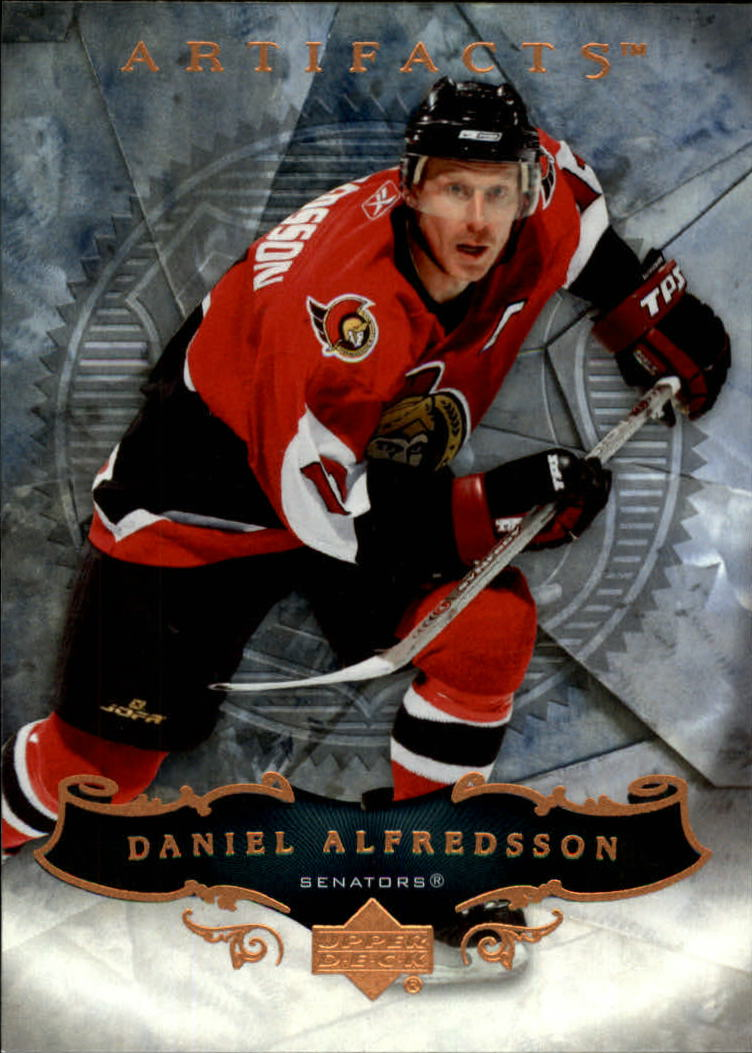 2006-07 Artifacts #33 Daniel Alfredsson