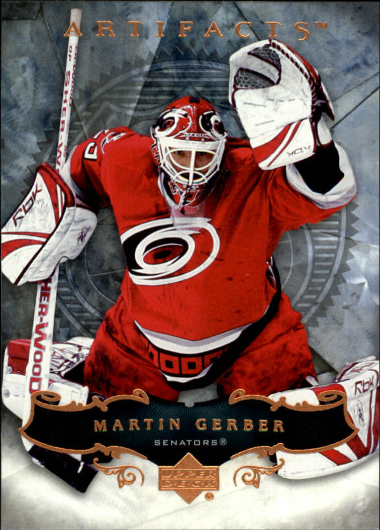 2006-07 Artifacts #34 Martin Gerber